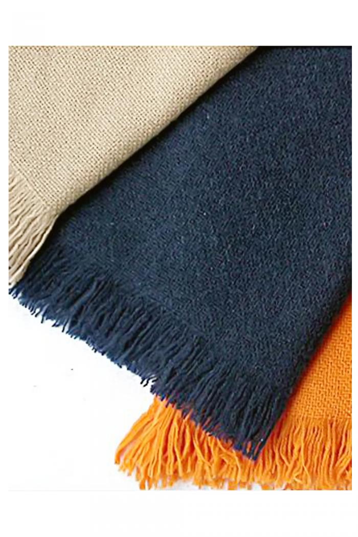 100% Cashmere Net Weave Shawl.