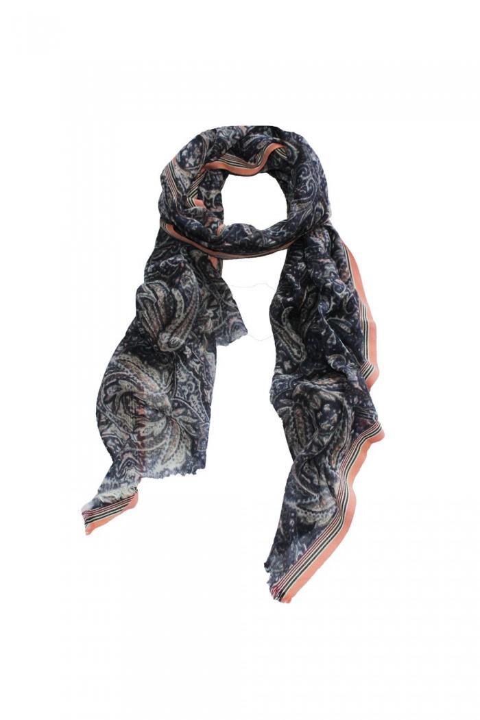 100% Woolen Printed Scarf