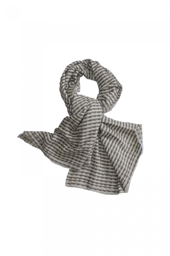 100% Fine Cashmere Wool Woven Scarf